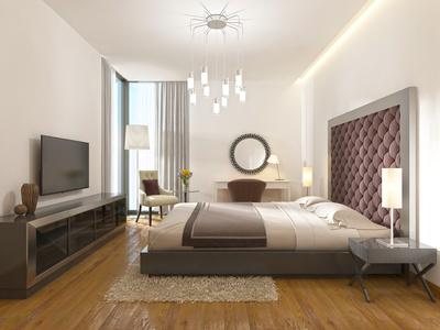 Luxuriöses-Bett